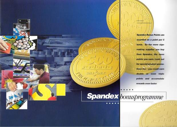 1993: Spandex introduce The Spandex Bonus loyalty programme